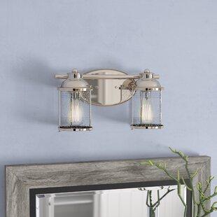 Beachcrest Home Galsworthy 2-Light Vanity Light