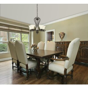 Metz 5-Light Shaded Chandelier by Charlton Home