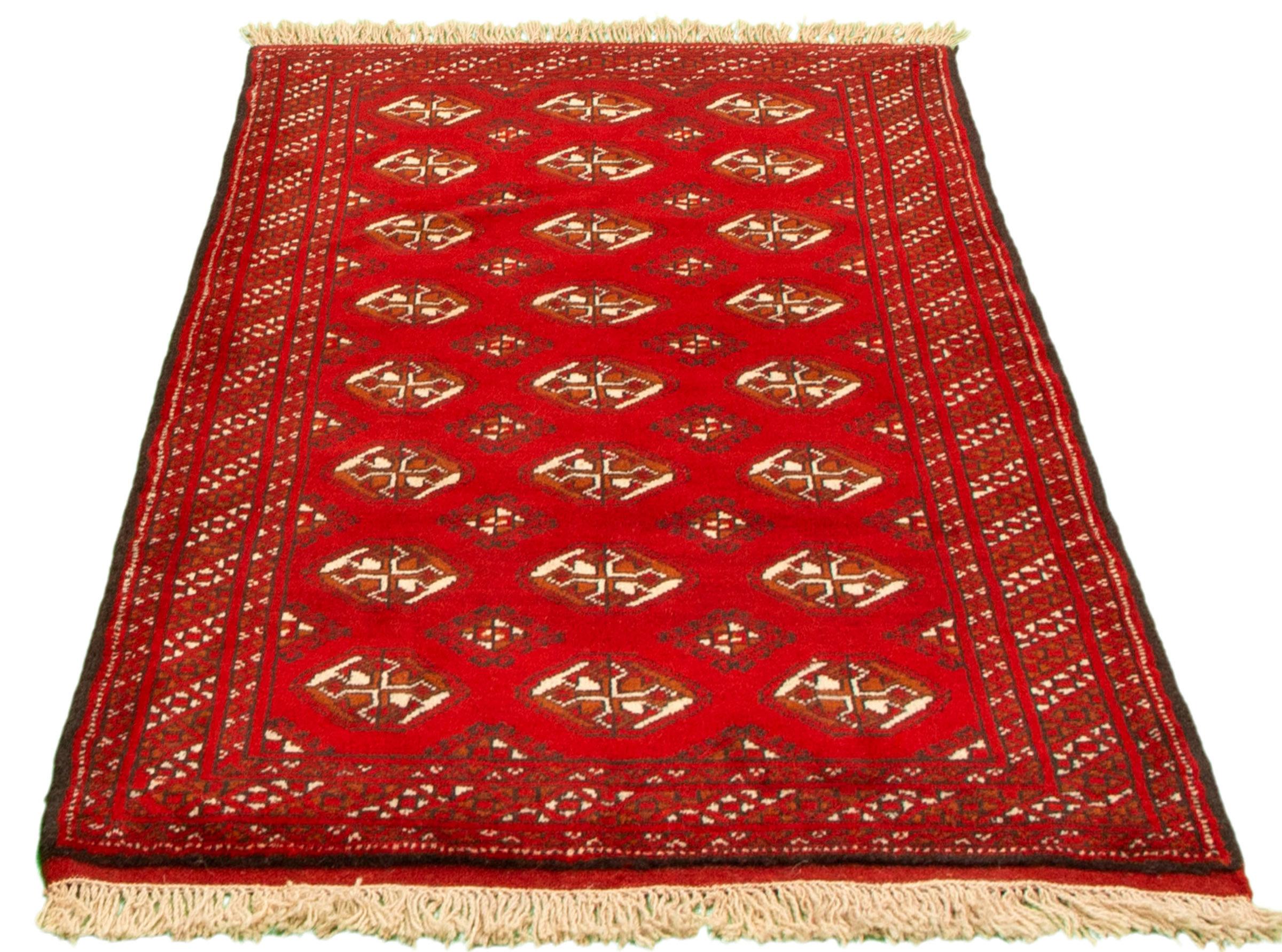 Bloomsbury Market Afjol Hand Knotted Wool Red Beige Rug Wayfair