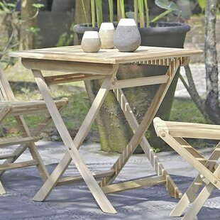 Folding Bistro Table By House Of Hampton