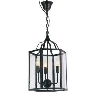 Carlyle Foyer 3-Light Pendant by Gracie Oaks