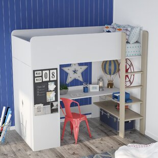 Reviews Dewey Extra Long Twin Loft Bed by Viv + Rae Reviews (2019) & Buyer's Guide