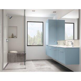 Delta Pivotal Mid Height Vessel Bathroom Faucet