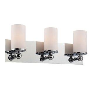 Latitude Run Ludlow 3-Light Vanity Light