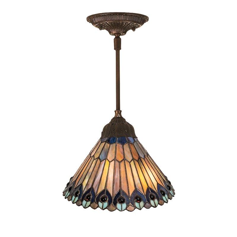 Astoria Grand Diane 1 Light Single Cone Pendant Wayfair