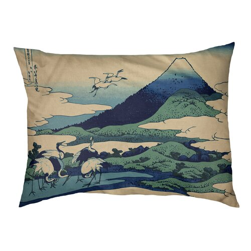 Tucker Murphy Pet Burkart Mt Fuji Reflected In Lake Kawaguchi Indoor Outdoor Dog Pillow Classic Wayfair Ca