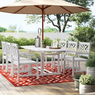 Hatten 7 Piece Dining Set by Sol 72 Outdoor