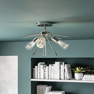 Berryhill 3-Light Semi Flush Mount by Langley Street