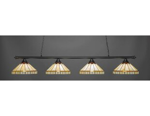 Mendez 4-Light Billiard Pendant by Red Barrel Studio