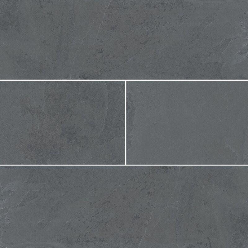 Msi Montauk 6 X 24 Slate Field Tile