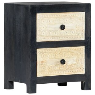 Mylah 2 Drawer Bedside Table By Bloomsbury Market