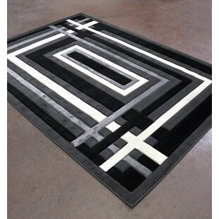 Compare Antracite/Black Area Rug ByRug Tycoon