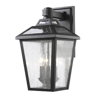 Compare Croll 3-Light Outdoor Wall Lantern By Breakwater Bay