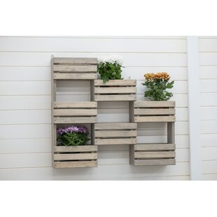 Wood Wall Planter Image