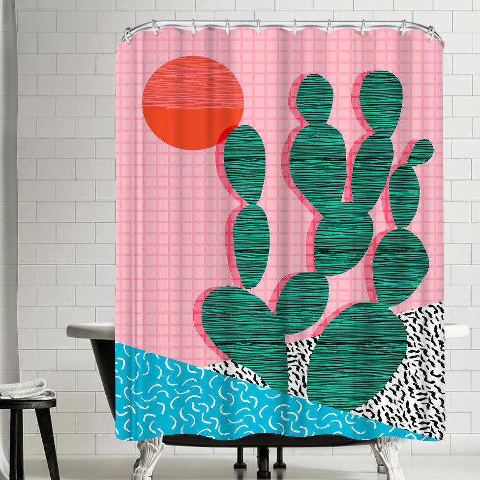 East Urban Home Wacka Designs Sup Single Shower Curtain Wayfair