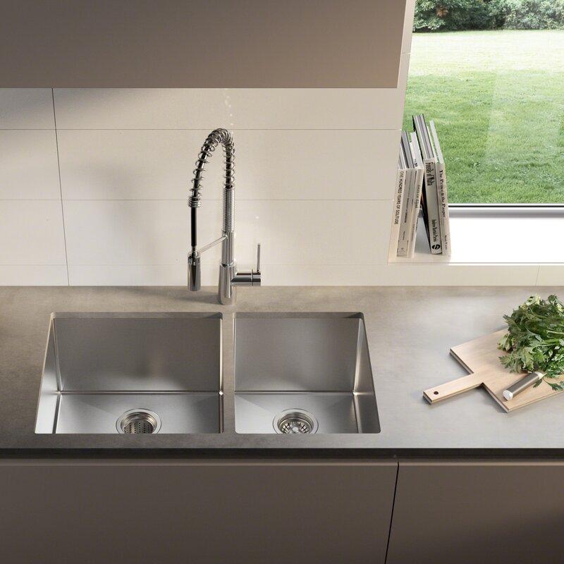 KHU103-33 Kraus Kitchen Sink 33