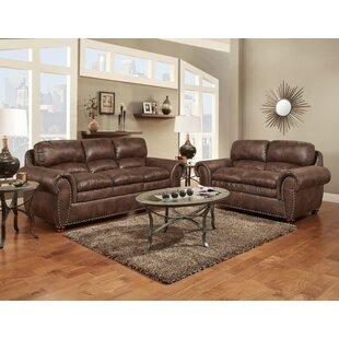 Union Rustic Orrville 2 Piece Living Room..