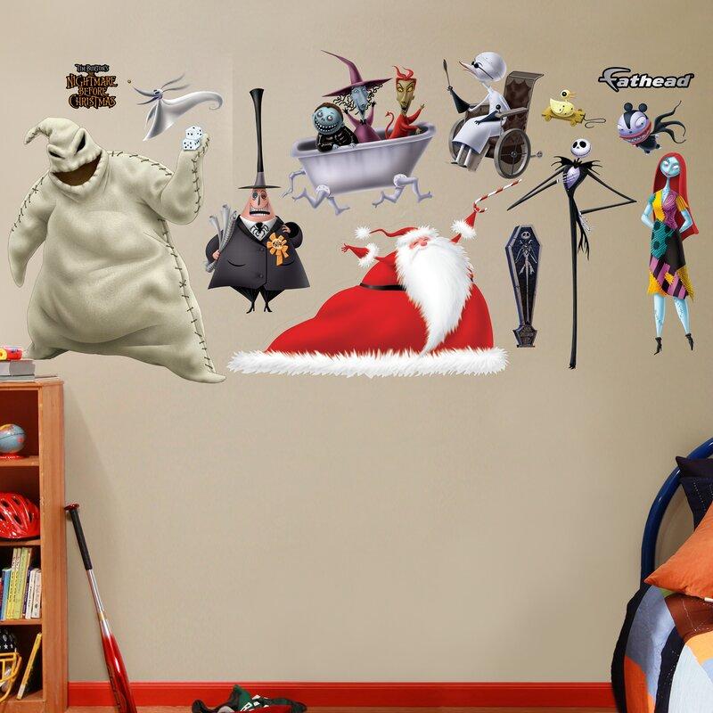 Fathead Disney Nightmare Before Christmas Wall Decal | Wayfair