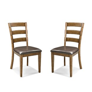 Great Price Whitacre Side Chair (Set of 2) by Millwood Pines Reviews (2019) & Buyer's Guide