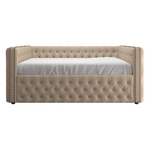Scribner Button Tufted Daybed Three Posts