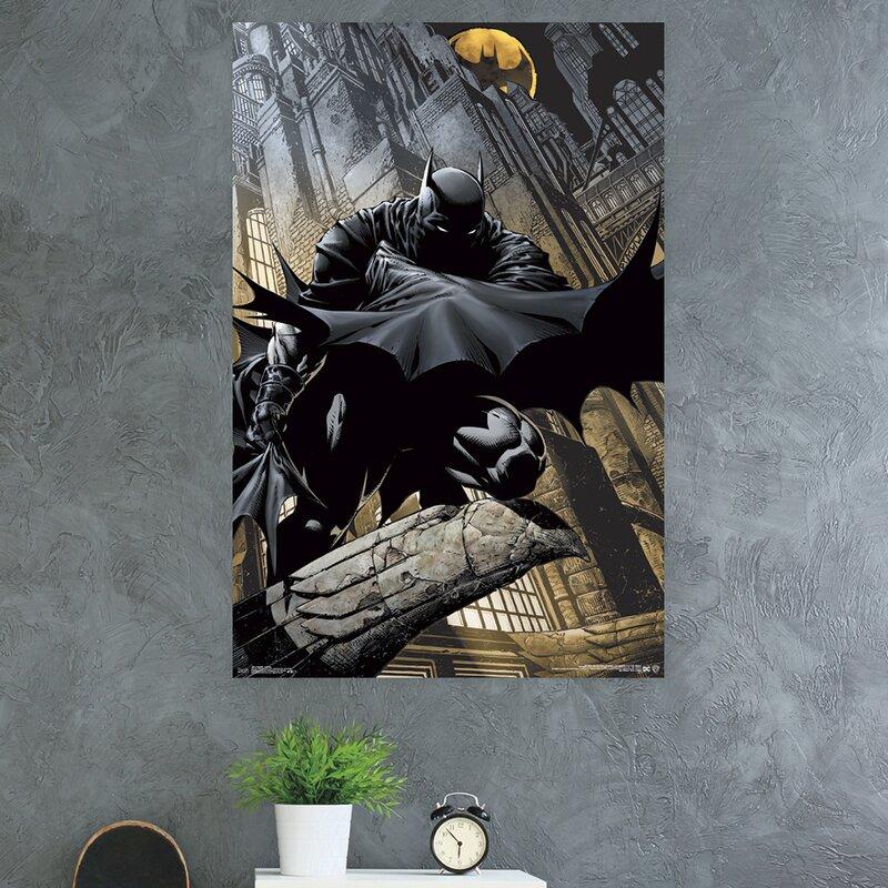 Trends International Batman Lurking Paper Print Wayfair