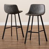 Moira 28 Bar Stool (Set of 2) by Williston Forge