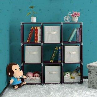 Sparkman DIY Storage Shelves 9 Cube Bookcase By Rebrilliant