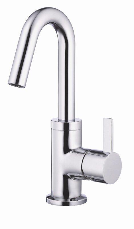 Bathroom Faucets Edmond Ok danze amalfi single handle single hole bathroom faucet & reviews