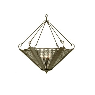 Meyda Tiffany Umbrella 3-Light Bowl Pendant
