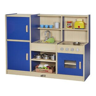 4-in-1 Play Kitchen by ECR4kids