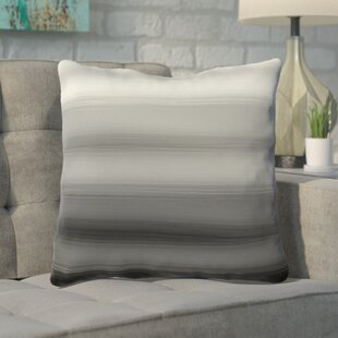 Rhodes Ombre Watercolors Throw Pillow