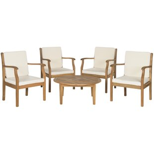 Colfax 5 Piece Conversation Set with Cushions