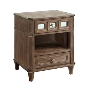 Roscommon 2 Drawer Nightstand by Canora Grey Read Reviews