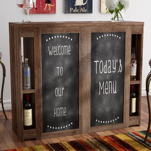 Carolyn Transitional Bar with Wine Storage by Red Barrel Studio