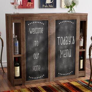 Carolyn Transitional Bar with Wine Storage by Red Barrel Studio