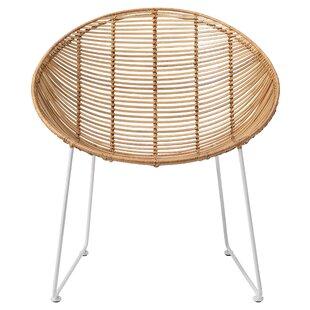 Betio Braided Papasan Chair by Langley Street