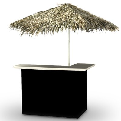 Dorian Home Tiki Bar Set by Rosecliff Heights Discount