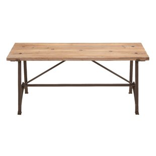 Cole & Grey Wood Bench
