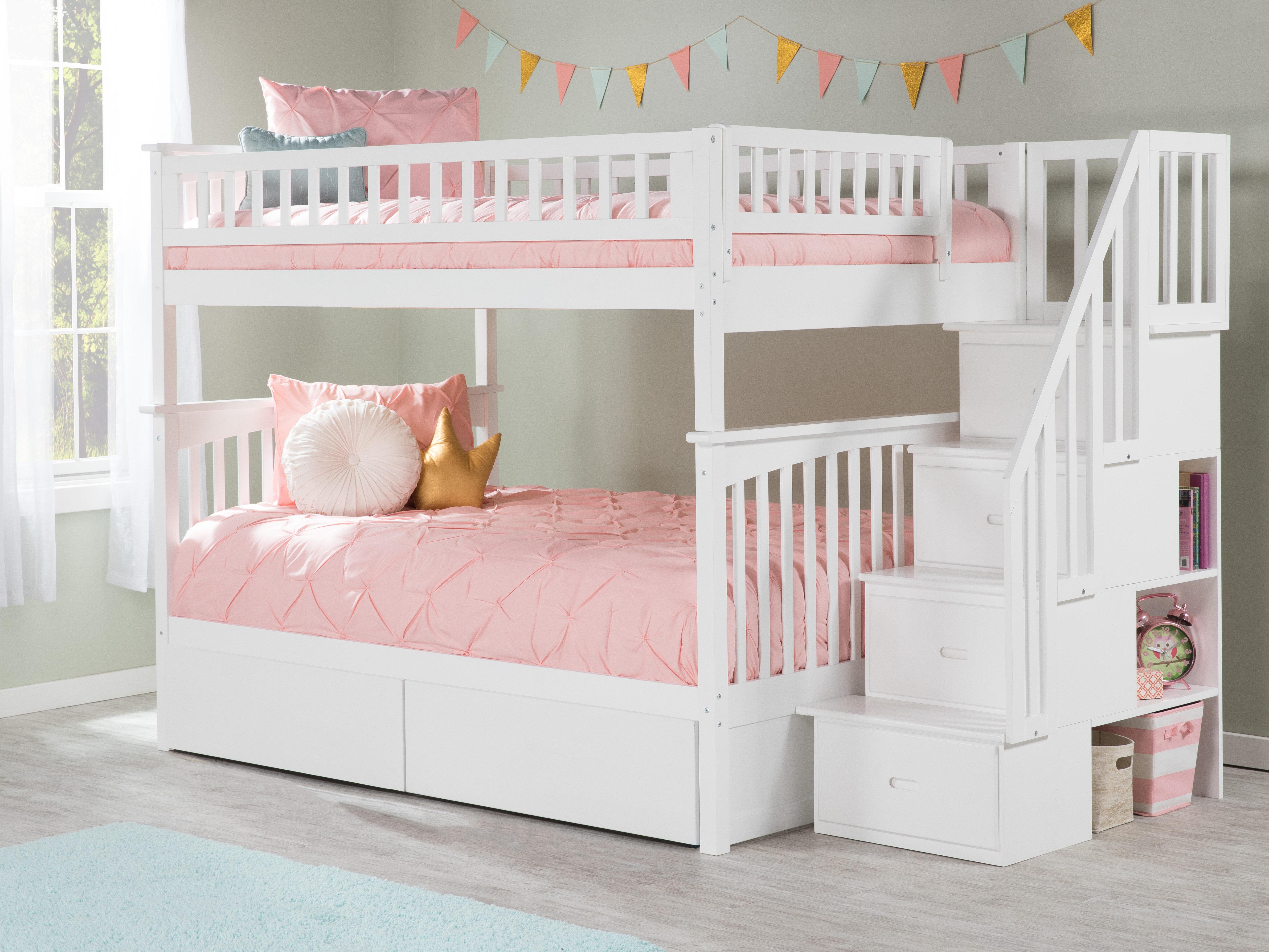 Harriet Bee Abel Full Over Full Solid Wood Standard Bunk Bed By Harriet Bee Reviews Wayfair
