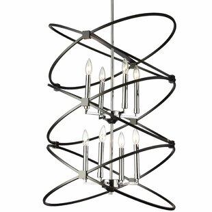 Carpen 8-Light Geometric Chandelier by Mercer41