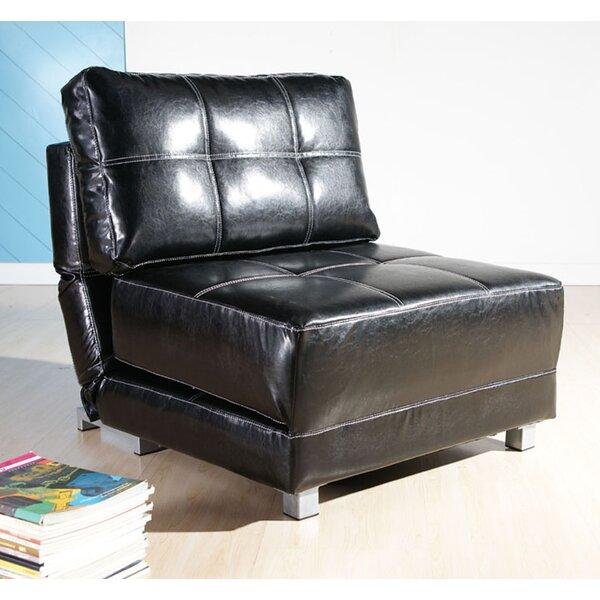 Ebern Designs Hersey 31 5 Wide Tufted Convertible Chair Reviews Wayfair