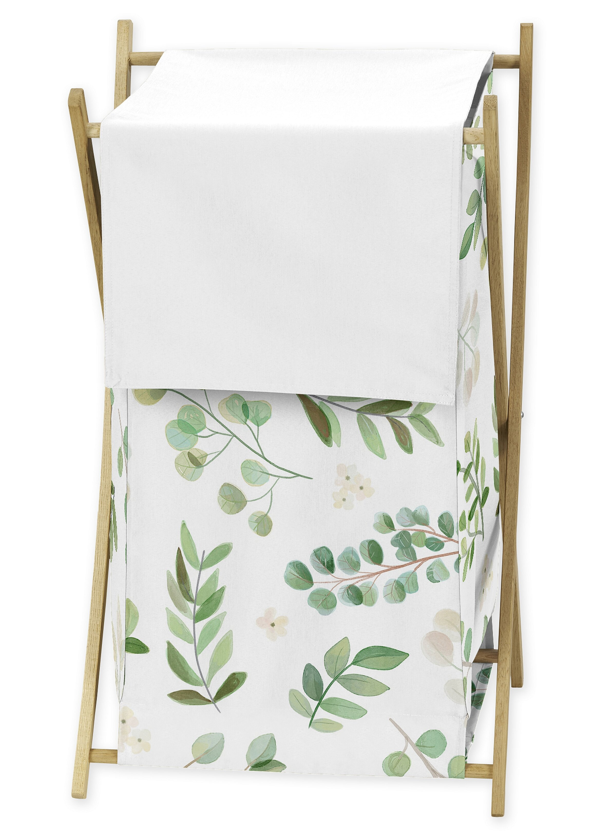 Sweet Jojo Designs Botanical Floral Leaf Laundry Hamper Reviews Wayfair