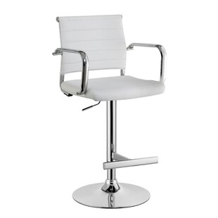 Orren Ellis Northpoint Adjustable Height Bar Stool