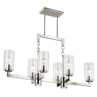 Orren Ellis Starbuck 6-Light Kitchen Island Pendant