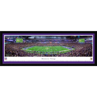 NFL MN Vikings 1st Game at US Bank Stadium Framed Photographic Print