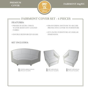 Rosecliff Heights 4 Piece Cover Set