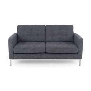 Shop Agostini Mid-Century Loveseat by Corrigan Studio