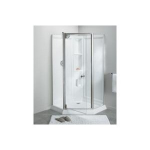 Solitaire? Frameless Neo-Angle Corner Shower Kit