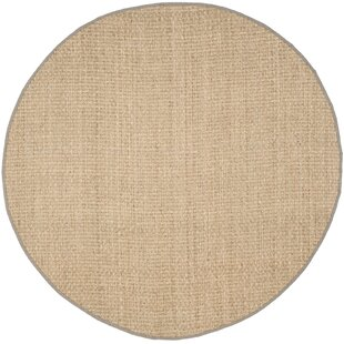 Richmond Natural/Gary Area Rug by Beachcrest Home