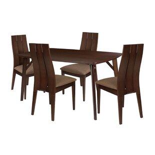 Rafferty 5 Piece Dining Set by Ebern Designs